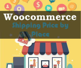 woocommerce shipping price by place