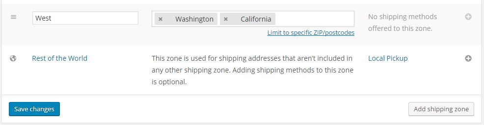 Shipping Price by Place
