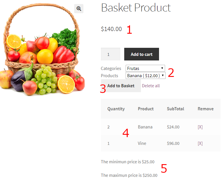 basket product
