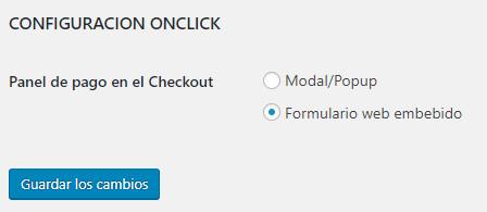 configuración woocommerce culqi pago con un click
