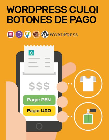 Wordpress Culqi Botones de Pago