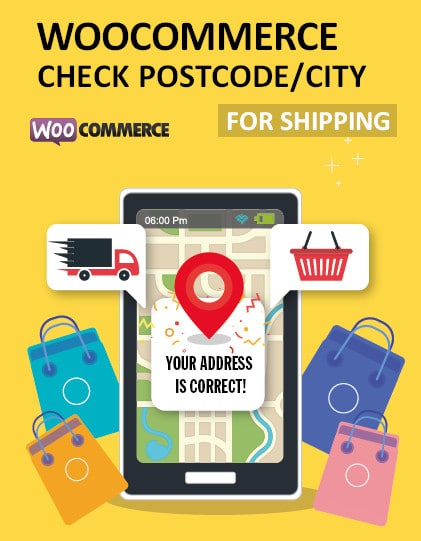 woocommerce check postcode