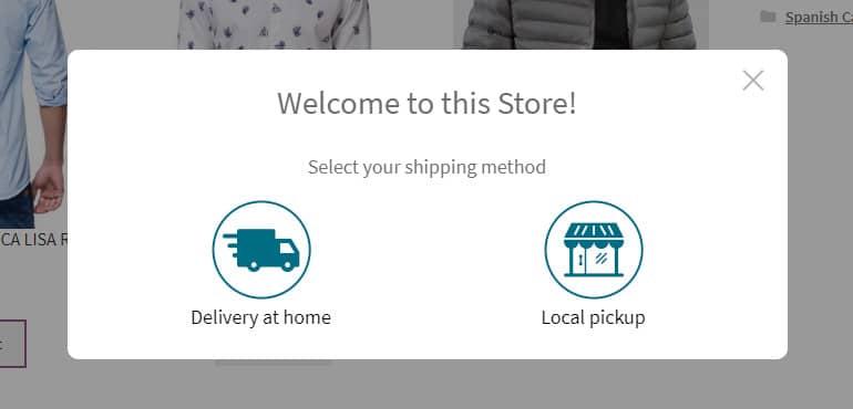 delivery docs Woocommerce Postcode